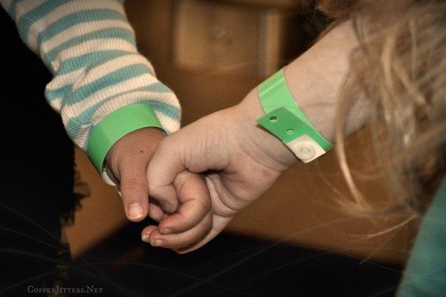 holding hands - CoffeeJitters.Net