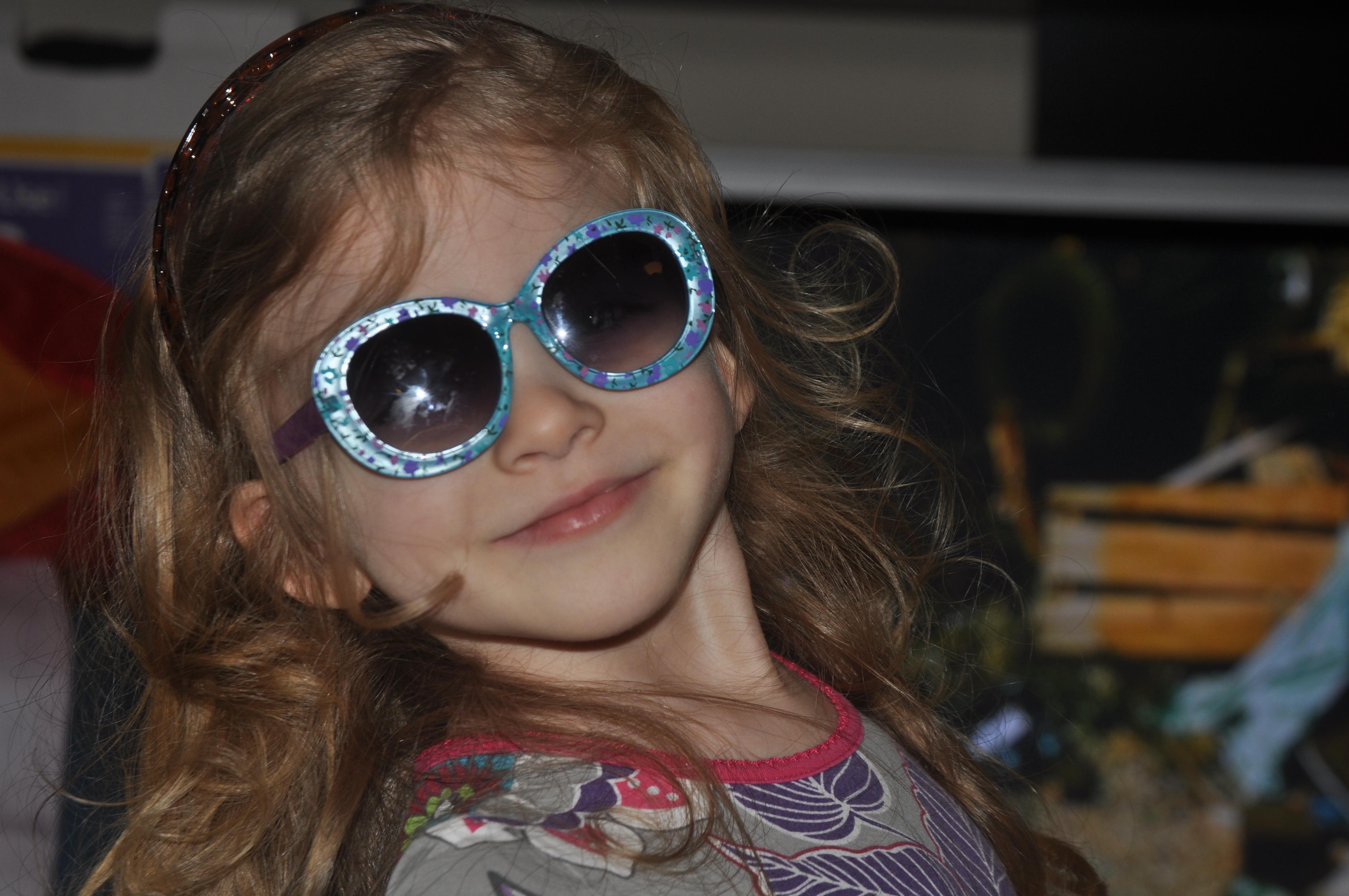 gem in sunglasses