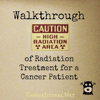 walkthrough of radiation treatment for a cancer patient