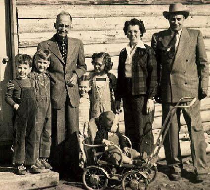 McKinley Family Alaska 1947