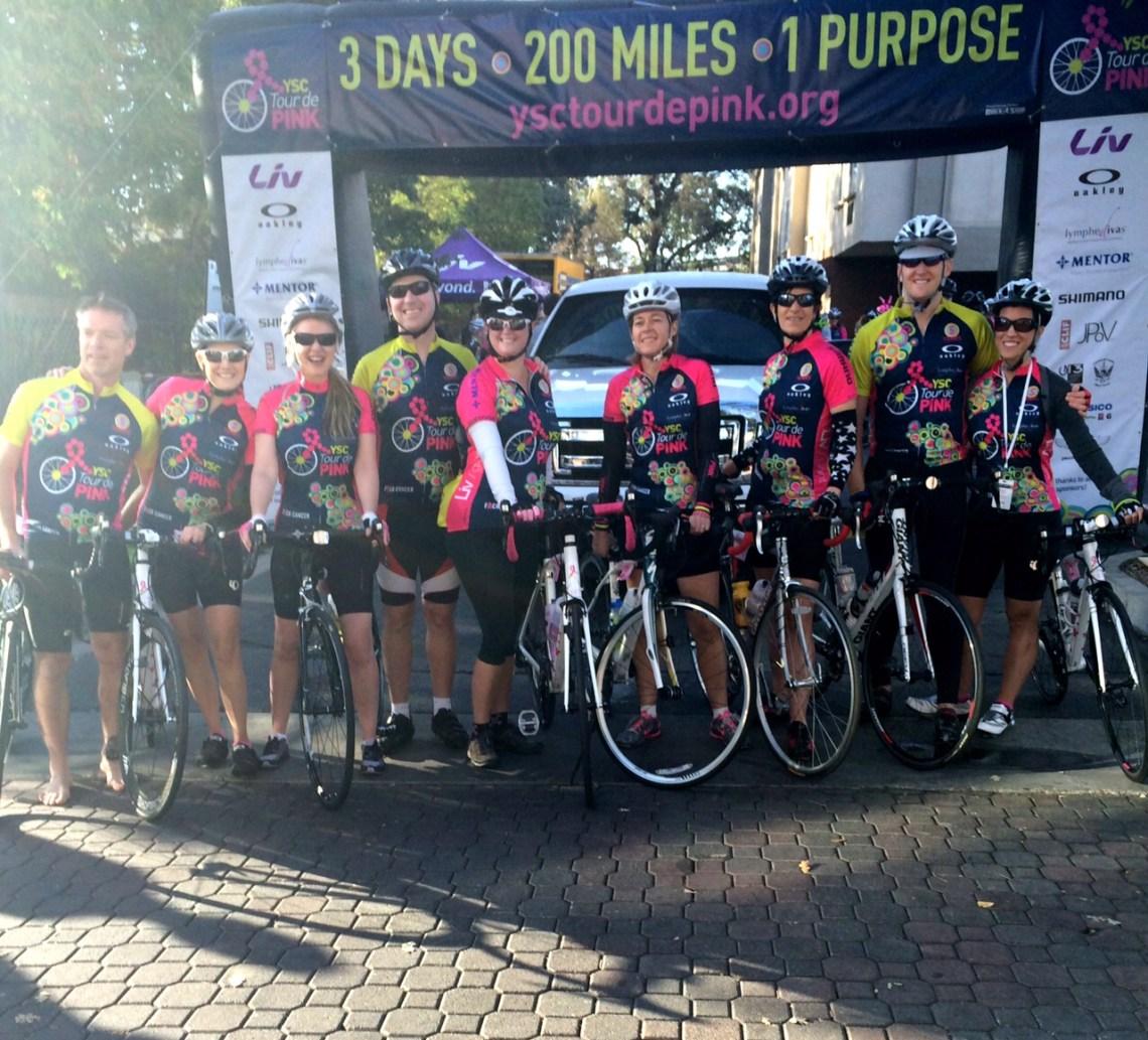 Tour de Pink 2014