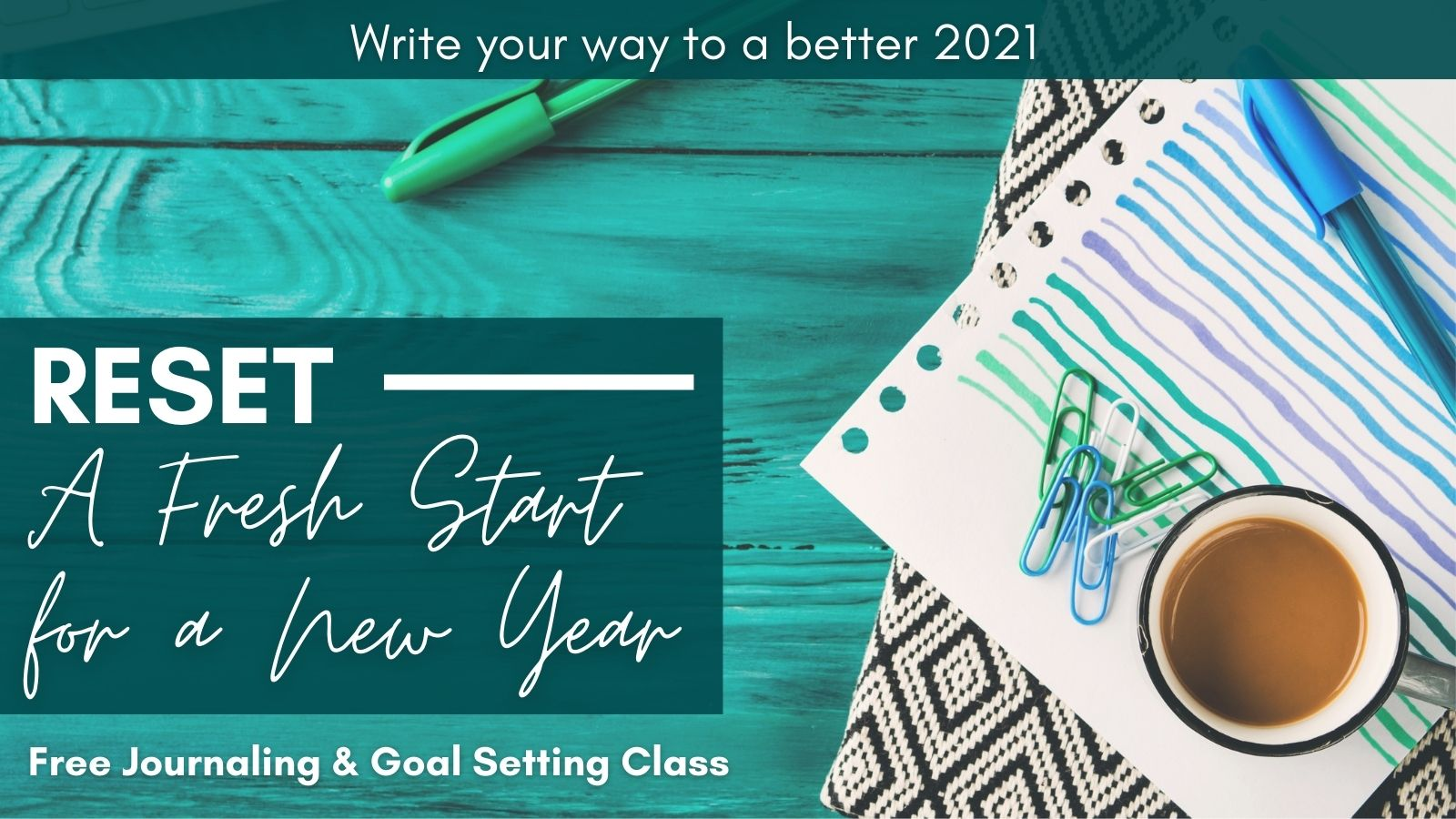 A Fresh Start for the New Year: Are You Ready to Turn the Page on 2020?