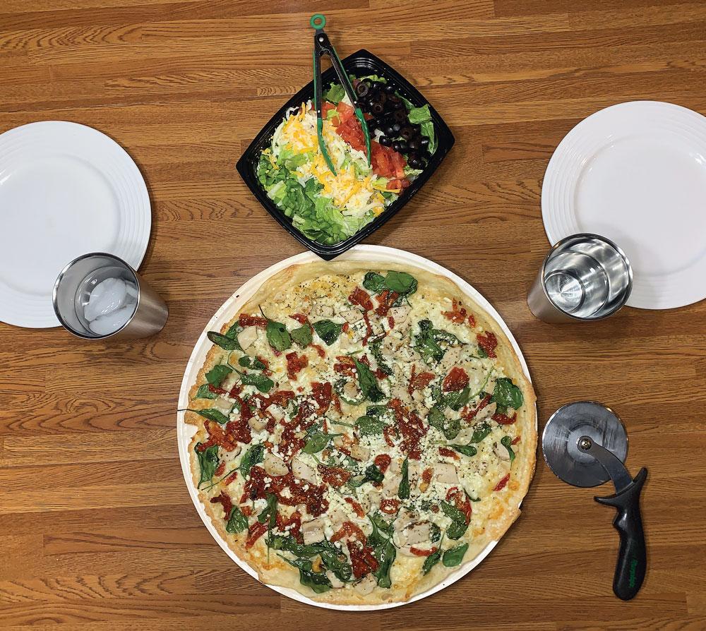 Try in 2020: Herb Chicken Mediterranean Pizza