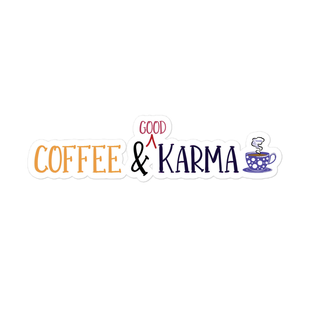 coffee, good karma, meditation