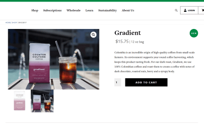 The 3 Things Every Coffee Ecommerce Page Needs
