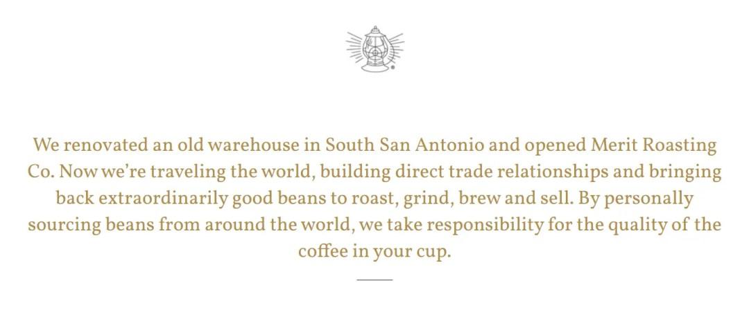 merit coffee marketing