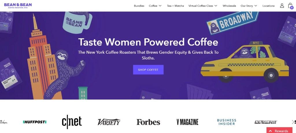 Bean and Bean Website