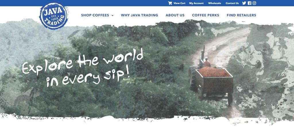 Java Trading Website