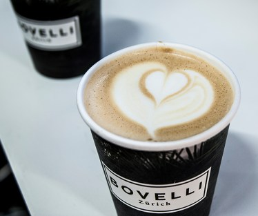 The yummy Bovelli Cappuccino