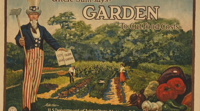 "Is it really ""Victory Garden"" Time?"