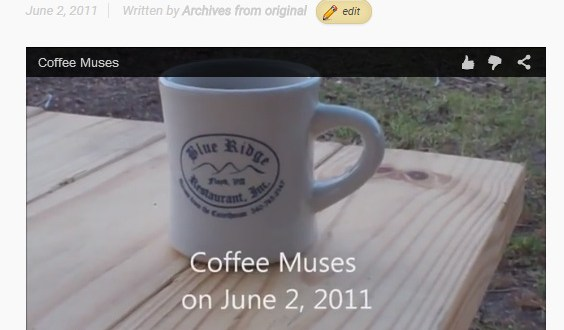 Join Me For My Morning Coffee - Coffee Muses