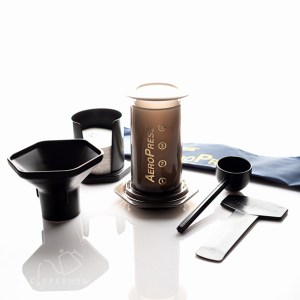Aeropress with tote bag