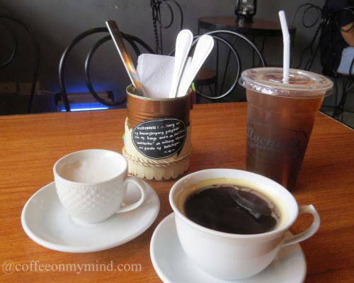 Avenida Pasteleria in Meycauayan Bulacan hot and iced americano coffee