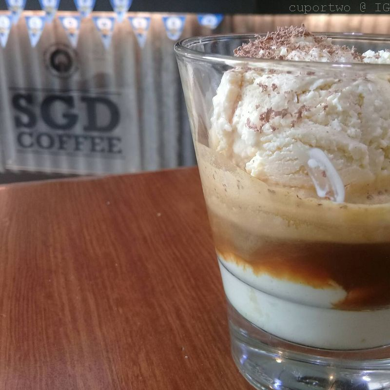 sgd coffee affogato