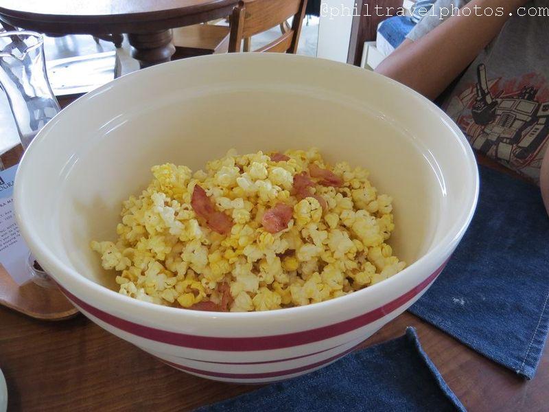 the giving cafe rosemary bacon popcorn