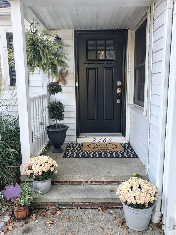 Late Summer Front Porch Ideas