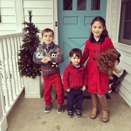 Save. Christmas 2014 - Coordinating Christmas Outfits - Coffee, Pancakes & Dreams