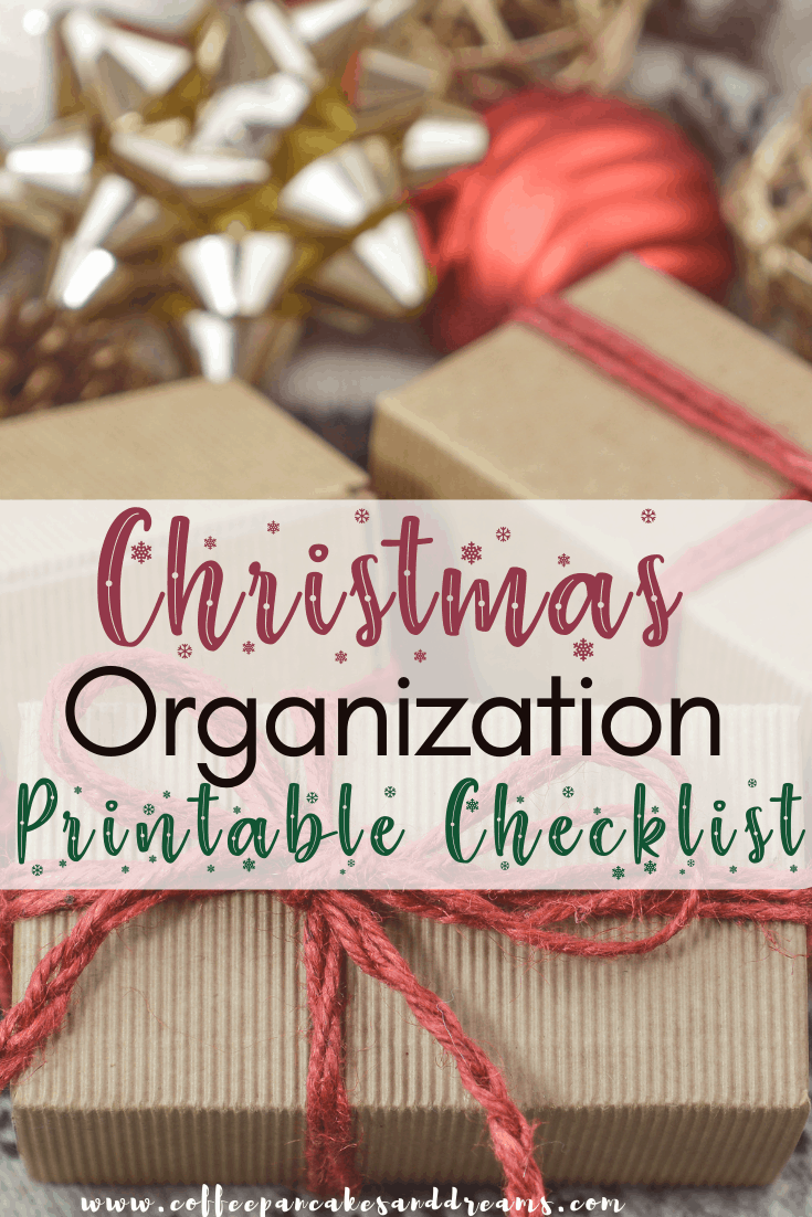 How to get organized for Christmas #planner #checklist