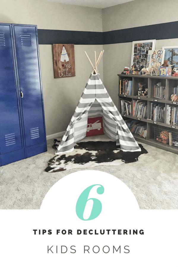6 Best Tips for Decluttering Kids Rooms
