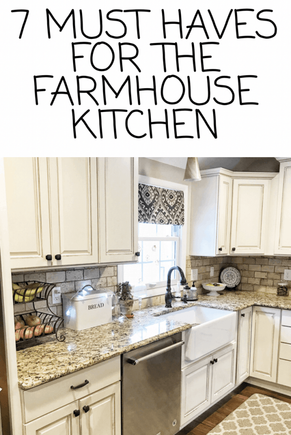 How to get the farmhouse kitchen look #farmhousekitchen #farmhousedecor #inexpensivefarmhousedecor