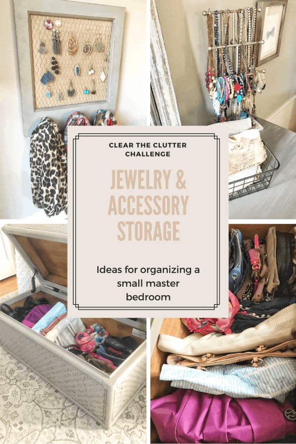 Jewelry and Accessory Organization Ideas for Small Bedrooms