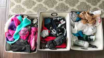 how to organize a coat closet