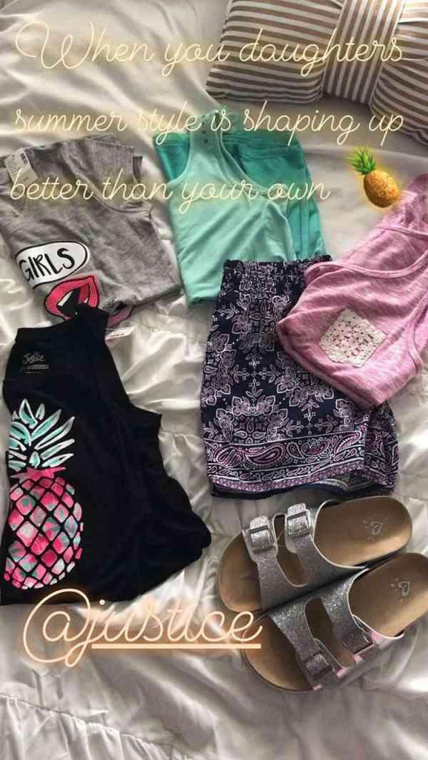 Tween Summer Outfit Ideas