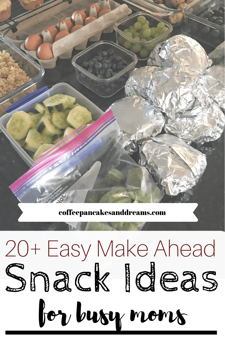 Prep 20+ snacks in under two hours for a week's worth of snacks! #mealprep #homemadesnacks #healthysnacks #howto