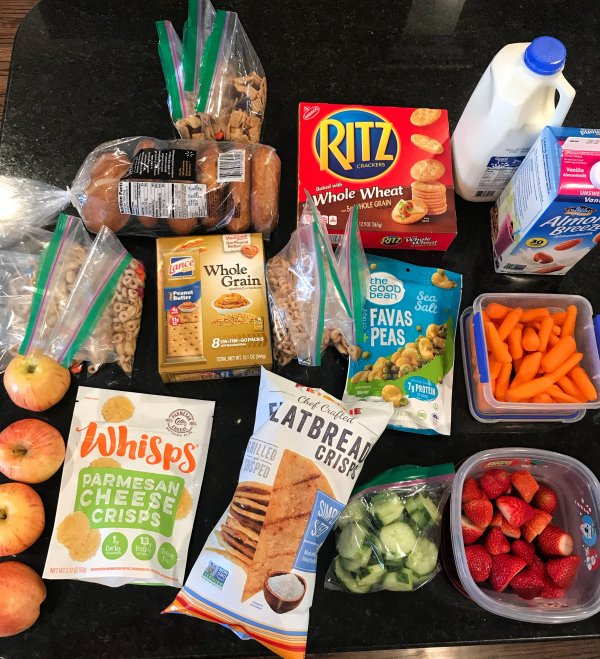 Healthy Snack Ideas for Family Road Trips