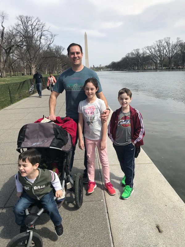 Taking your family to DC