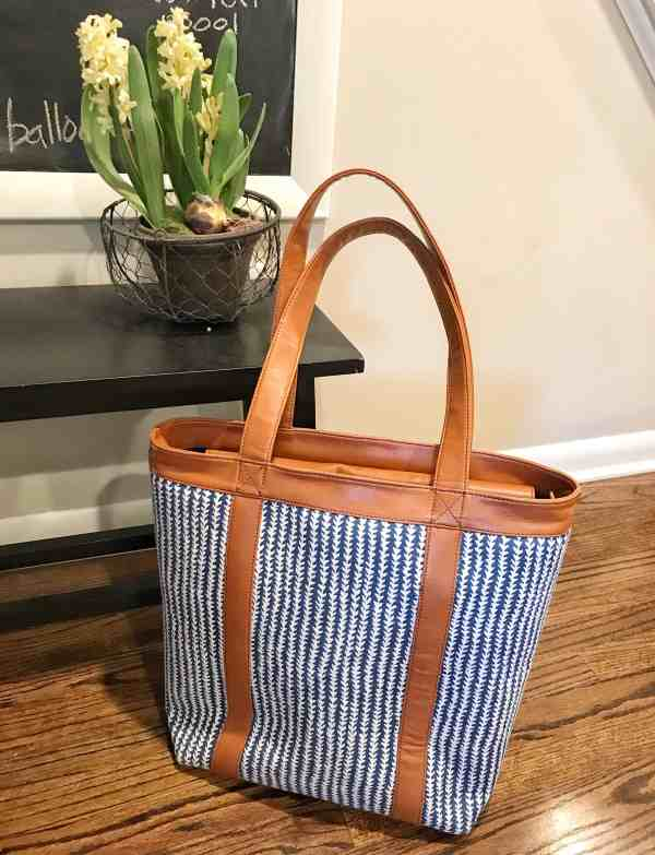 Vegan, Eco Friendly and Made in USA tote bag