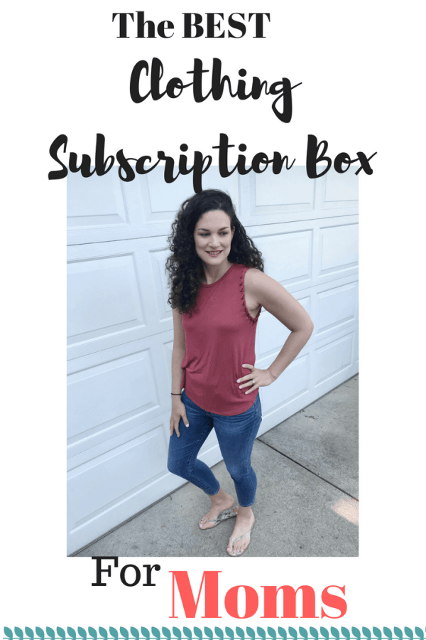 Clothing Subscription Box for Moms #momstyle #subscriptionboxforwomen #sahm #style