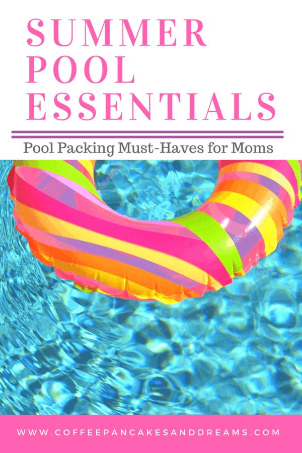 What Moms Should Pack for Pool Days #summer #momhacks #kids