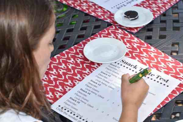 Summer Fun with Kids: Snack Taste Test Free Downloadable Ballot #kids #summer #rainyday