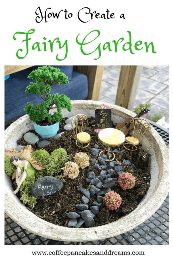 Inexpensive DIY Fairy Garden Ideas #kids #small #easy