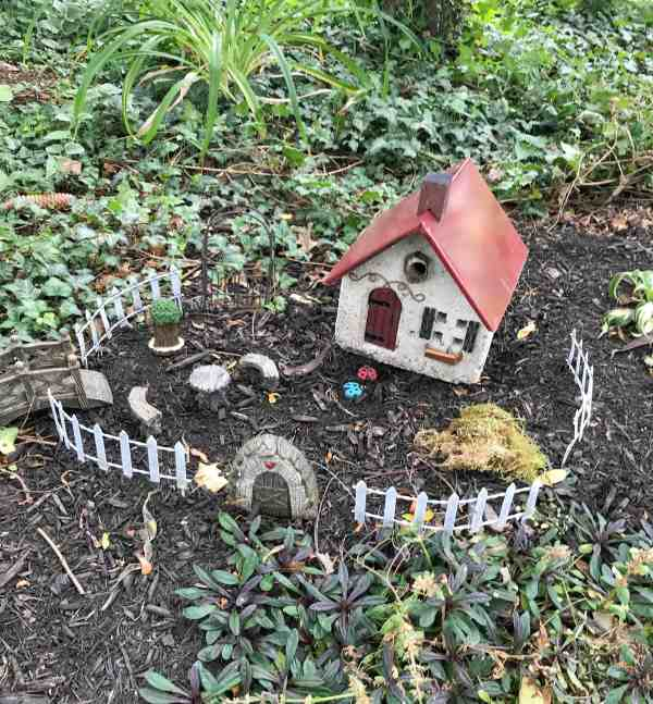Creating an Outdoor Fairy Garden #ideas #diy #kids