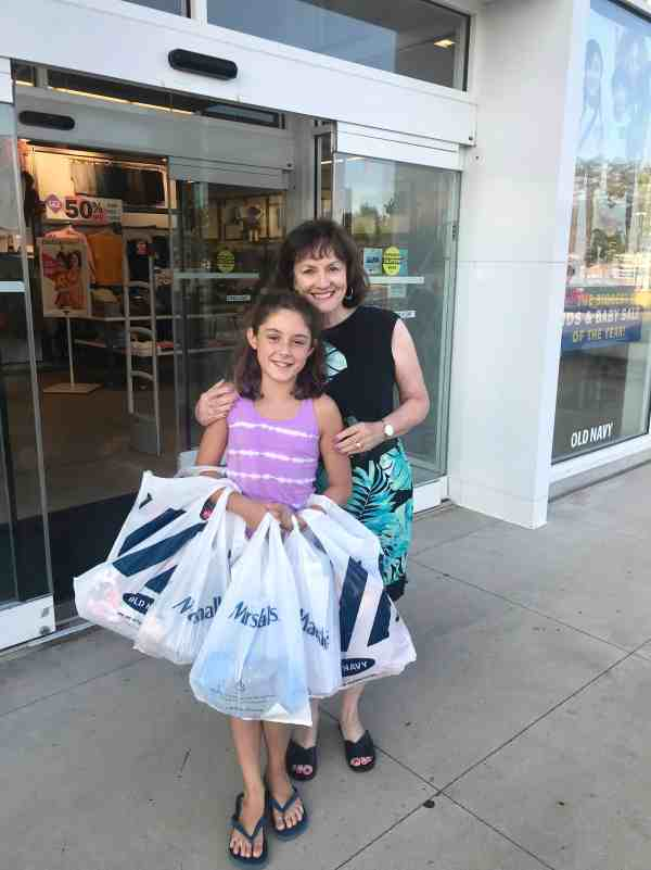 Annual back to school shopping trip #traditions #tweens #clothing