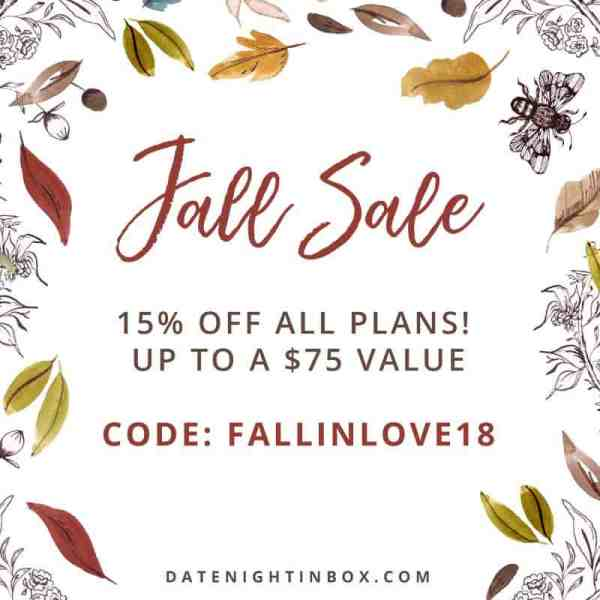 Date Night In Box Coupon Code #fall #subscriptionbox #affiliate