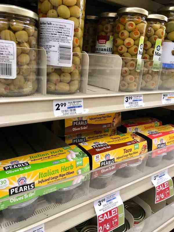 Where to buy Pearl Olives to Go