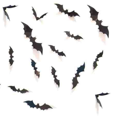 Halloween Bat Wall Decor #batwall #walldecor #halloweendecor