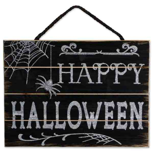 Halloween Wood Sign #halloweendecor #decorforHalloween