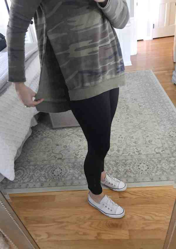 Camo Tunic Top #fallstyle #momfashion #outfitideas