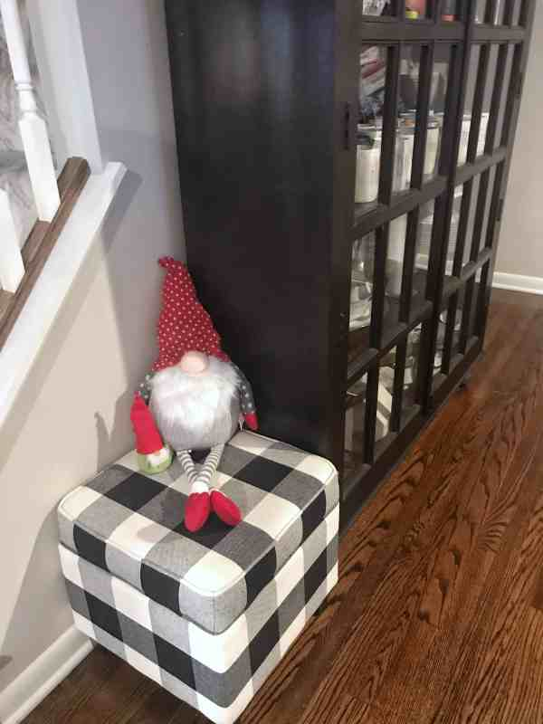 farmhouse style decorating ideas #rustic #shabbicchic #buffalocheck #gnomes