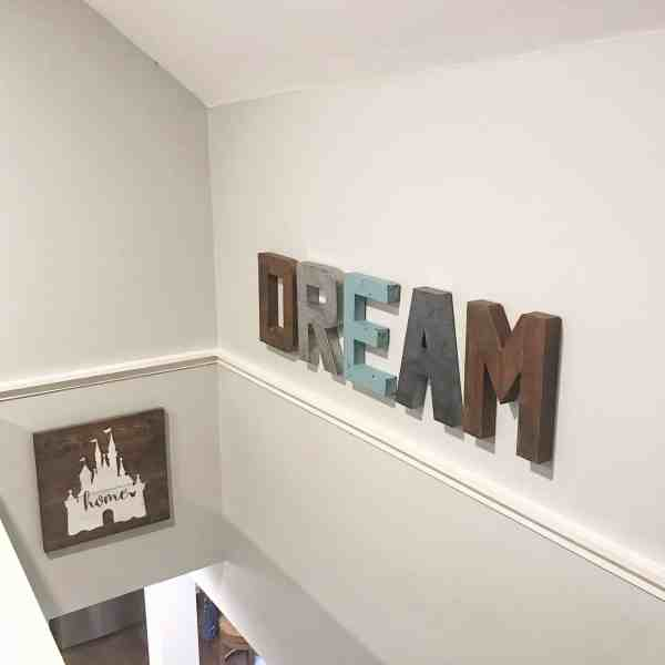 Wall Letters for the home #rustic #farmhouse #kidsroom #nursery