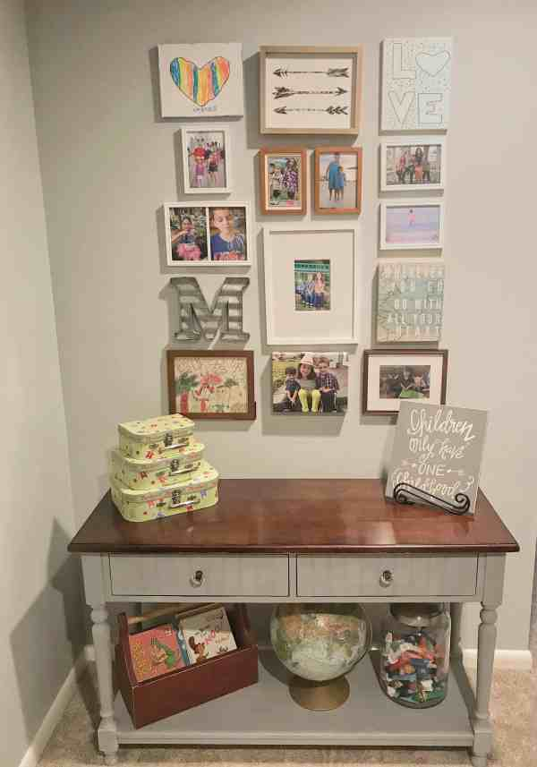 Kids Gallery Wall Inspiration #kidspaces #gallerywallideas #kidsrooms