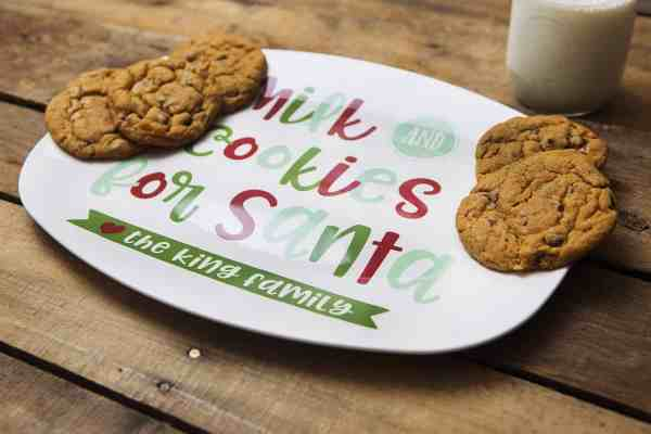 Personalized Christmas Platter #babies #kids #giftideas #christmastraditions