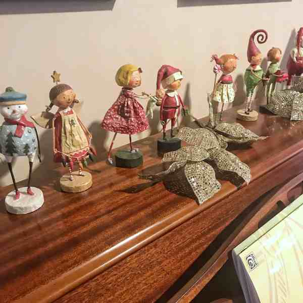Lori Mitchell Christmas Figurines #farmhouse #countrycharm #vintagedecor
