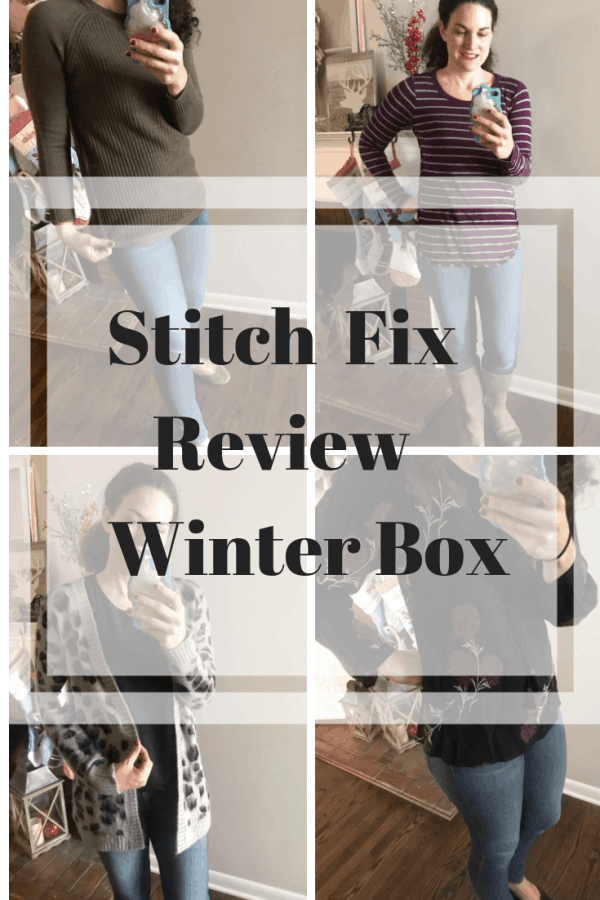 Stitch Fix Unboxing Winter 2018 #affiliate #momstyle #fallfashion #subscriptionbox