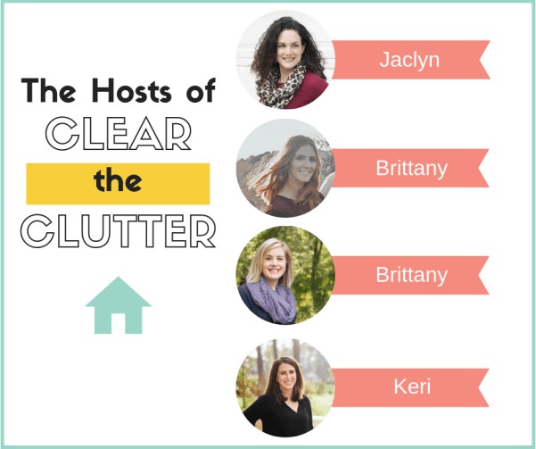 Clear the Clutter Challenge 2019 Hosts