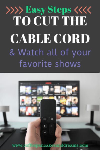Easy Ways to Cut the Cable Cord #lifehacks #moneysavingtips #moneysavingideas #cabletv